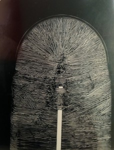 Emilio Scanavino, olio su tela, 162 x 131 cm. 1969