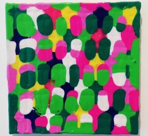 united colors cm. 30 x 30, 2013