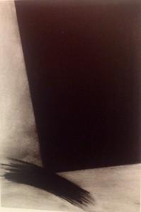 pastello ad olio su carta applicata su tavola, cm 51,5x71,5 . 1990