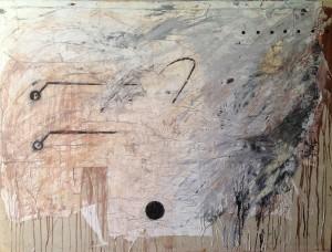 olio su tela, 150x200 cm. 1990