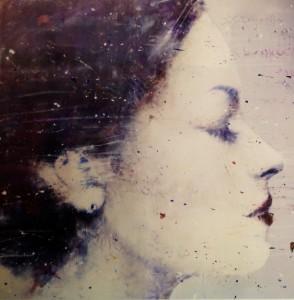 Volto olio su tela 100 x 120 cm.